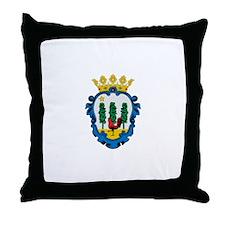 Cute Balearic Throw Pillow