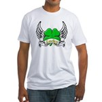 Lucky Tattoo Fitted T-Shirt