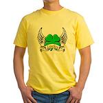 Lucky Tattoo Yellow T-Shirt