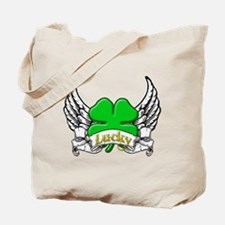 Lucky Tattoo Tote Bag