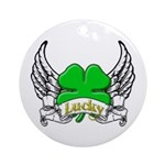 Lucky Tattoo Ornament (Round)