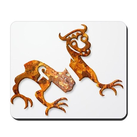 Novgorod Dragon - rust Mousepad