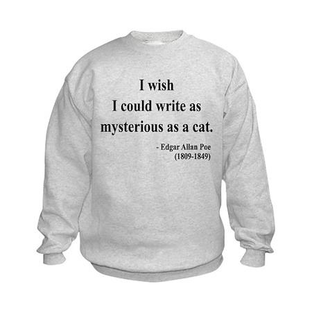 Edgar Allan Poe 6 Kids Sweatshirt