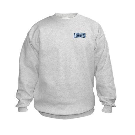 Ambling Rambler Nickname Collegiate Style Kids Swe