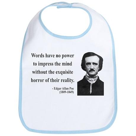 Edgar Allan Poe 8 Bib