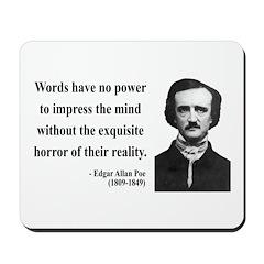 Edgar Allan Poe 8 Mousepad