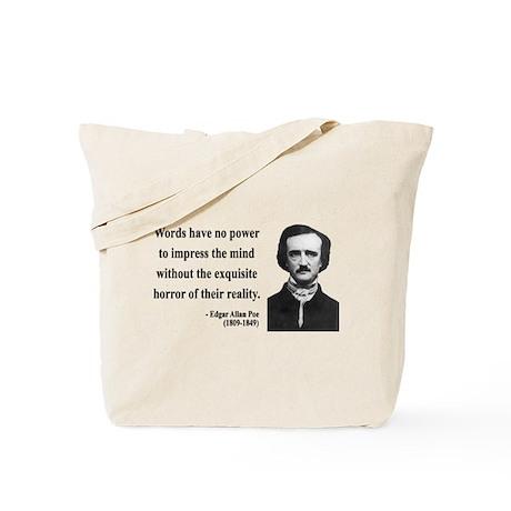 Edgar Allan Poe 8 Tote Bag