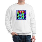 WHEATEN TERRIER DESIGN Sweatshirt