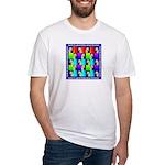 WHEATEN TERRIER DESIGN Fitted T-Shirt