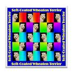 WHEATEN TERRIER DESIGN Tile Coaster