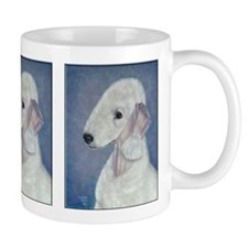 Bedlington (Blue) Small Mug