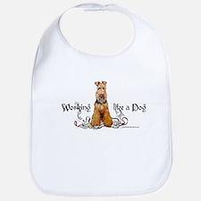 Working Airedale Terrier Bib