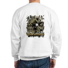 USCB Brown Reptile Camo Sweatshirt