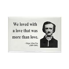 Edgar Allan Poe 9 Rectangle Magnet (100 pack)