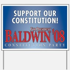 Baldwin Yard Sign