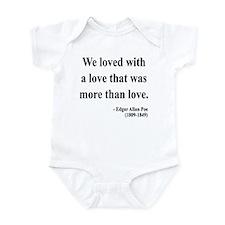 Edgar Allan Poe 9 Infant Bodysuit