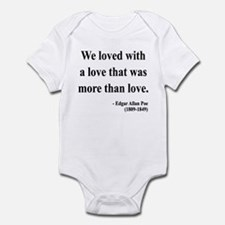 Edgar Allan Poe 9 Infant Bodysuit