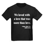 Edgar Allan Poe 9 Kids Dark T-Shirt