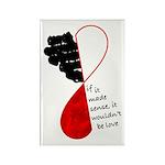 Love Sense Rectangle Magnet (10 pack)