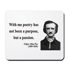 Edgar Allan Poe 10 Mousepad