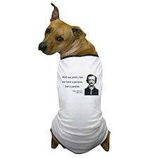 Edgar Allan Poe 10 Dog T-Shirt