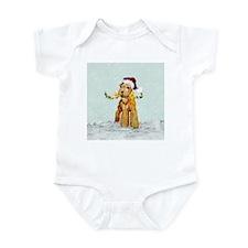 Winter Airedale Infant Bodysuit