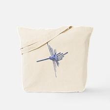 Nazca Hummingbird-glass Tote Bag