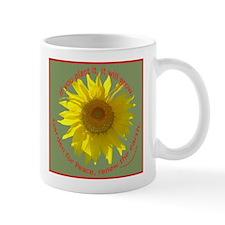 Garden For Peace, right handed Mug