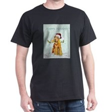 Winter Airedale T-Shirt