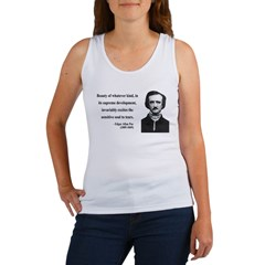 Edgar Allan Poe 11 Women's Tank Top