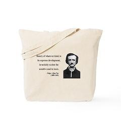Edgar Allan Poe 11 Tote Bag