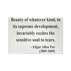 Edgar Allan Poe 11 Rectangle Magnet (10 pack)