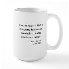 Edgar Allan Poe 11 Large Mug