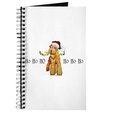 Santa Airedale Terrier Journal