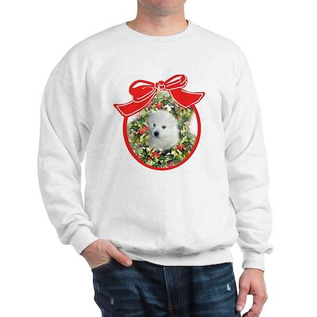 American Eskimo Christmas Sweatshirt