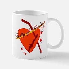 guilty of slashing Mug