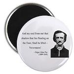 Edgar Allan Poe 12 Magnet