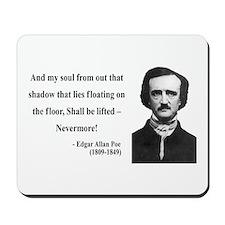 Edgar Allan Poe 12 Mousepad