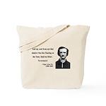 Edgar Allan Poe 12 Tote Bag