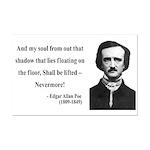 Edgar Allan Poe 12 Mini Poster Print