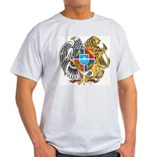 Armenia Coat Of Arms Ash Grey T-Shirt
