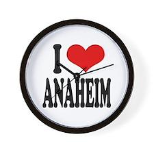 I Love Anaheim Wall Clock