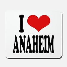 I Love Anaheim Mousepad