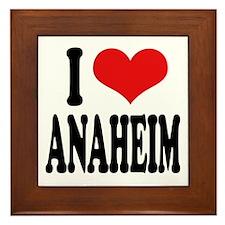 I Love Anaheim Framed Tile