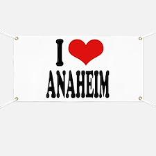I Love Anaheim Banner