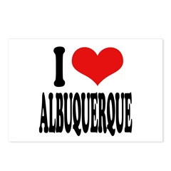 I Love Albuquerque Postcards (Package of 8)