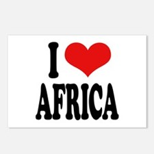 I Love Africa Postcards (Package of 8)