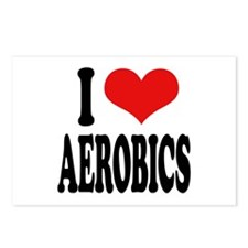 I Love Aerobics Postcards (Package of 8)