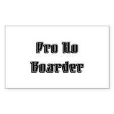 Pro Ho Rectangle Decal
