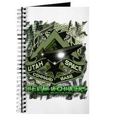 USCB Green Reptile Camo Journal